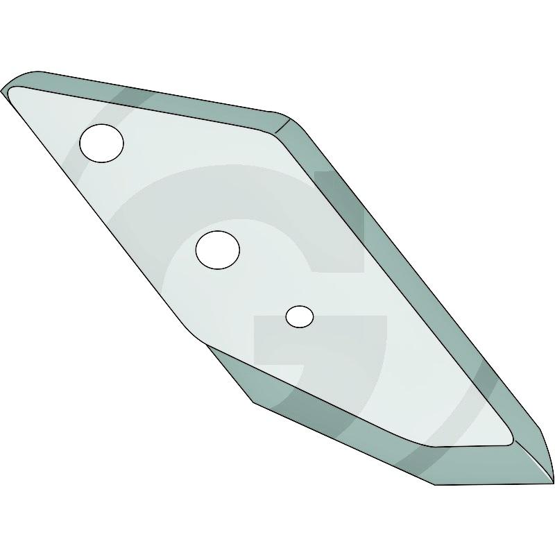 Punta de reja izquierda lemken reforzada