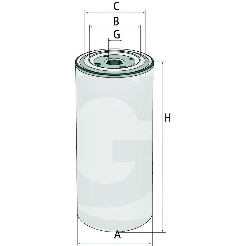 MANN Filtro de aceite del motor