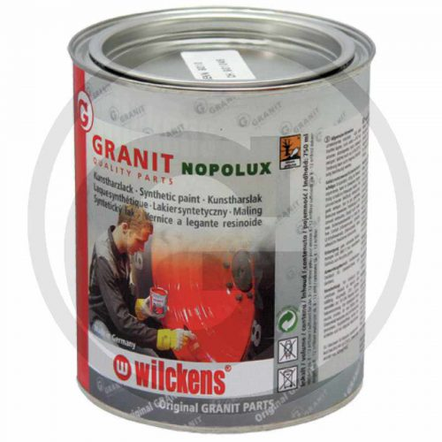 Pintura para tractores. Color Fendt gris diamante nuevo 300. 750 ml