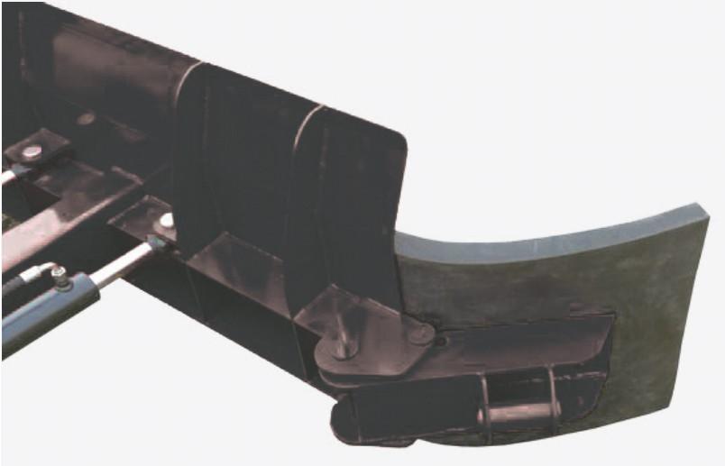 Hoja para estiércol 2,0m con el ajuste hidráulico del ángulo de trabajo