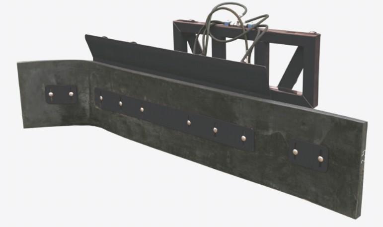 Hoja para estiércol 2,4m con el ajuste hidráulico del ángulo de trabajo