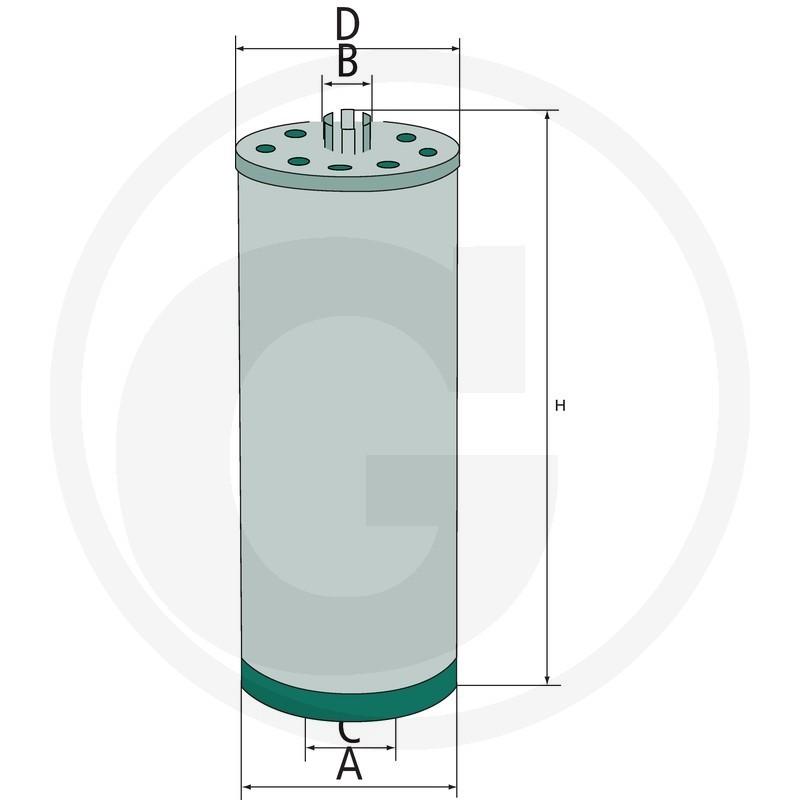 HIFI Filtro de aceite del motor