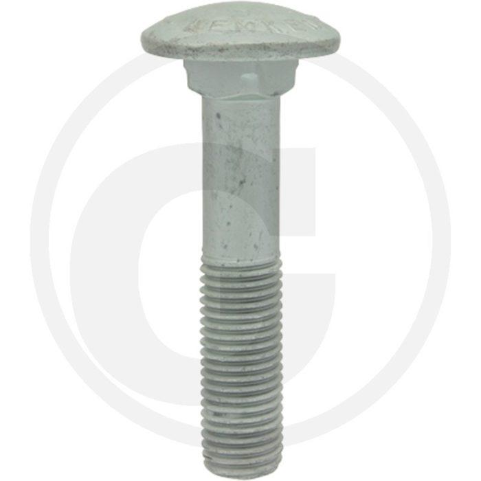 Lemken tornillo plano redondo M16x80-10.9 Zn