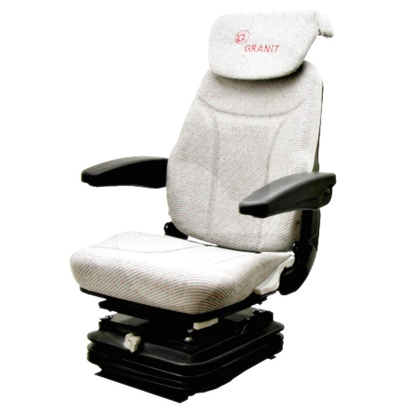 Asiento super confort (12V, con placa giratoria y reposacabezas)