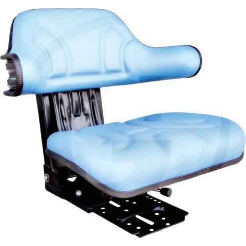 Asiento (Revestimiento cpl. de PVC (cuero sintético azul),compatible con Ford)