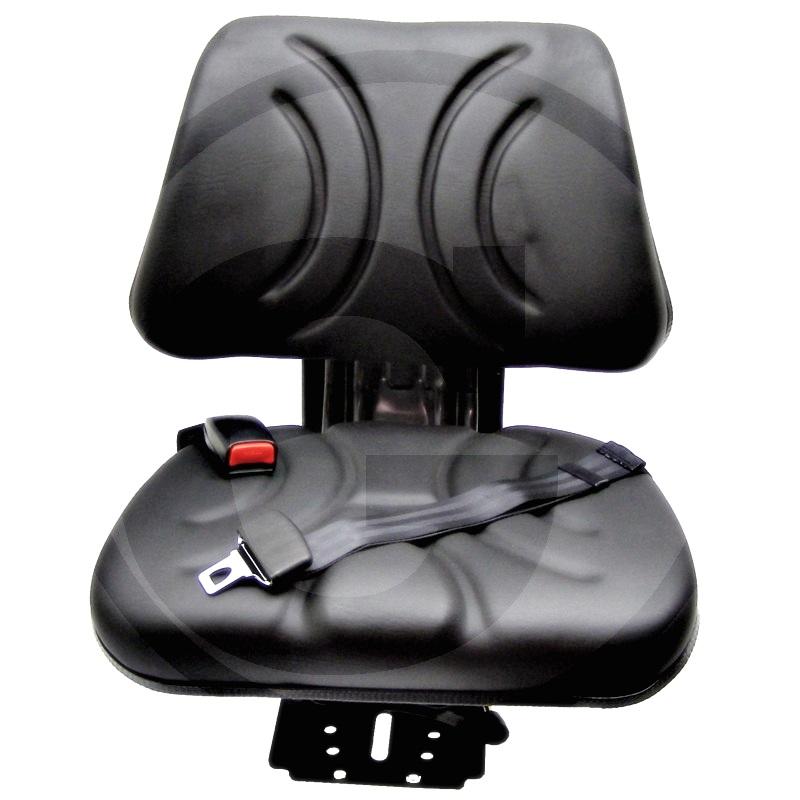 Asiento (Revestimiento cpl. de PVC (cuero sintético), incl. cinturón de seguridad estático)