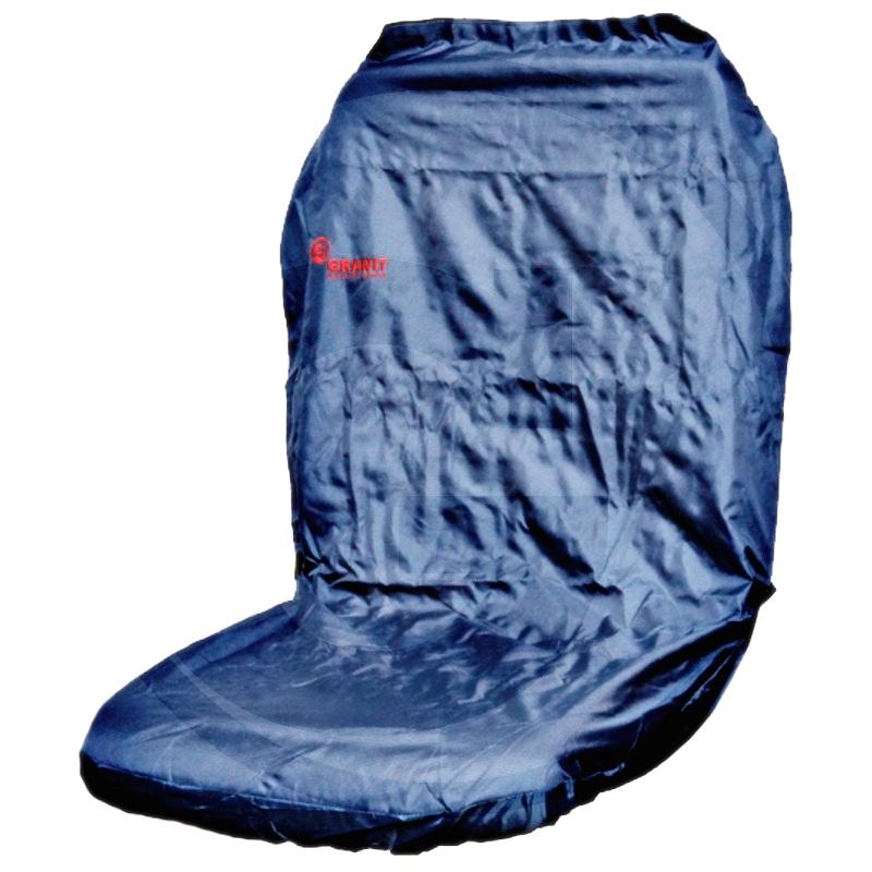 Funda de asiento (Azul, para respaldos altos)
