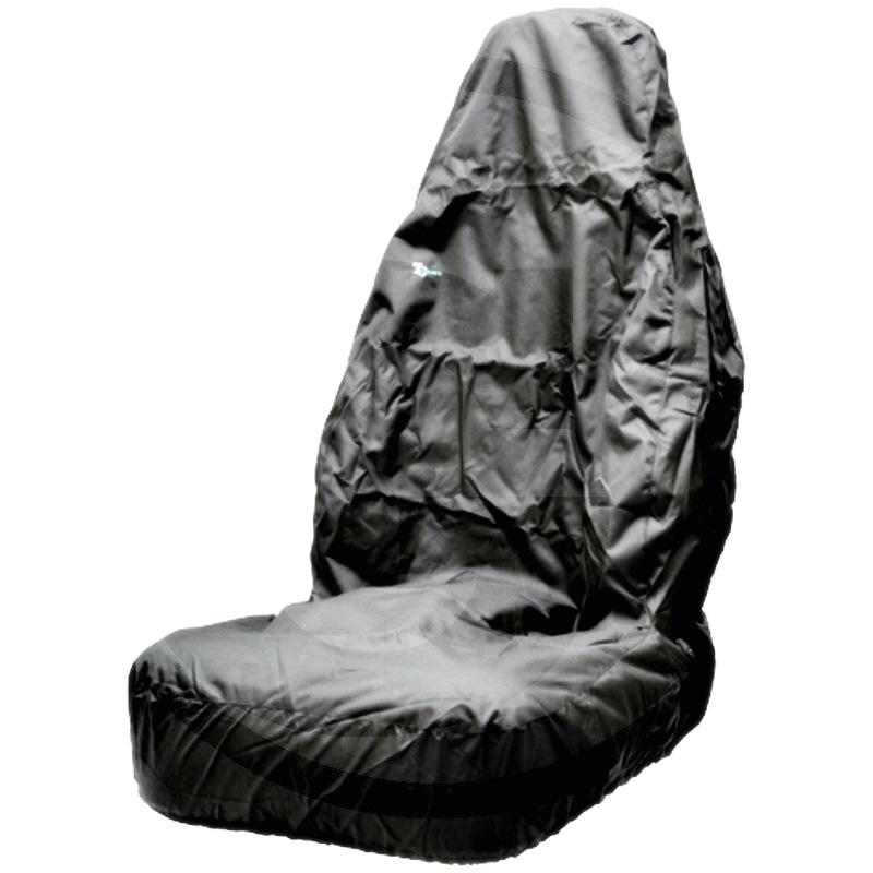 Funda de asiento (Negro, para automóvil    No adecuado para asientos con airbag!)
