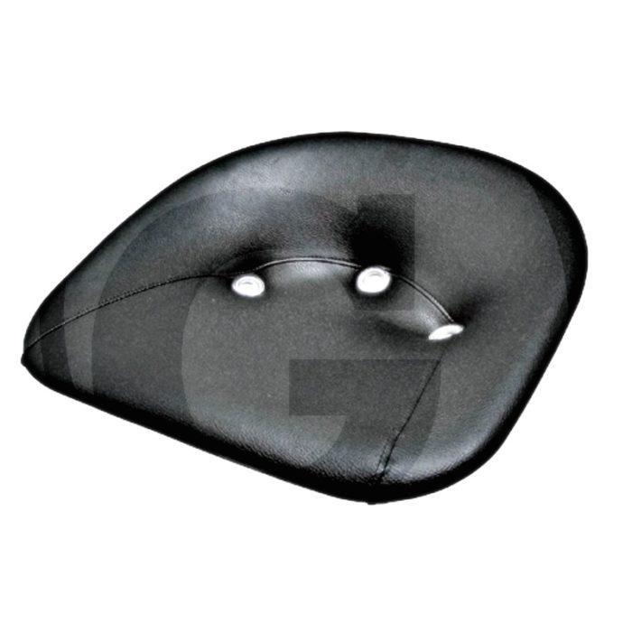Base de asiento (Acolchado    Cpl. con 2 tornillos de fijación M12 x 35    - Altura posterior: 140 mm    - Anchura de asiento: 480 mm    - Profundidad de asiento: 370 mm)