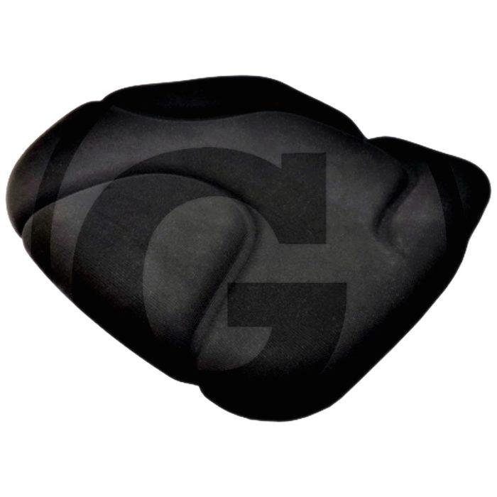 Cojín del asiento (Tela, negro  Adecuado para 240920200, 24000091)