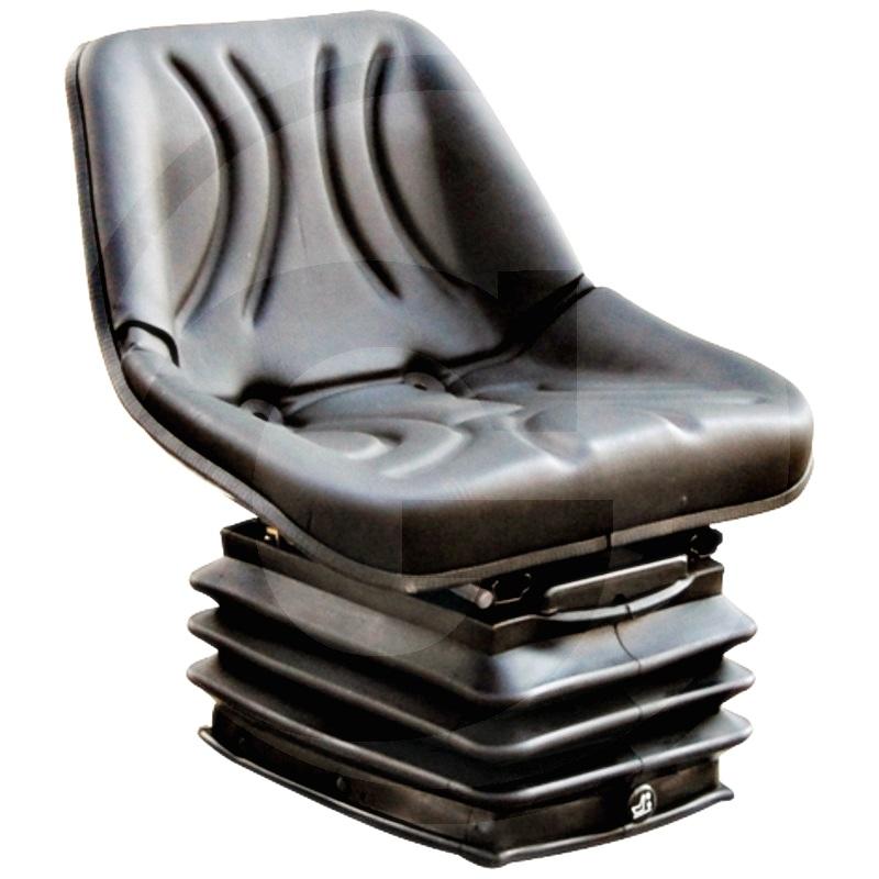 Asiento, neumático (Cpl., revestimiento de PVC (cuero sintético)  Estrecho 490 mm)