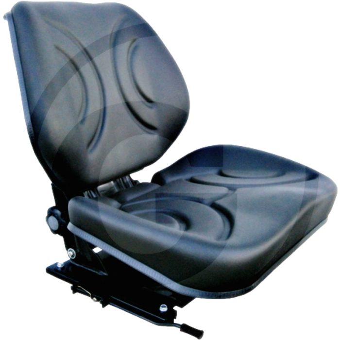 Asiento (Cuero sintético de PVC, negro)