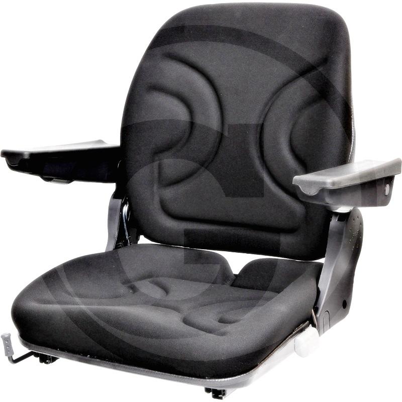 Tela para la parte superior del asiento (incl. reposabrazos ajustable)