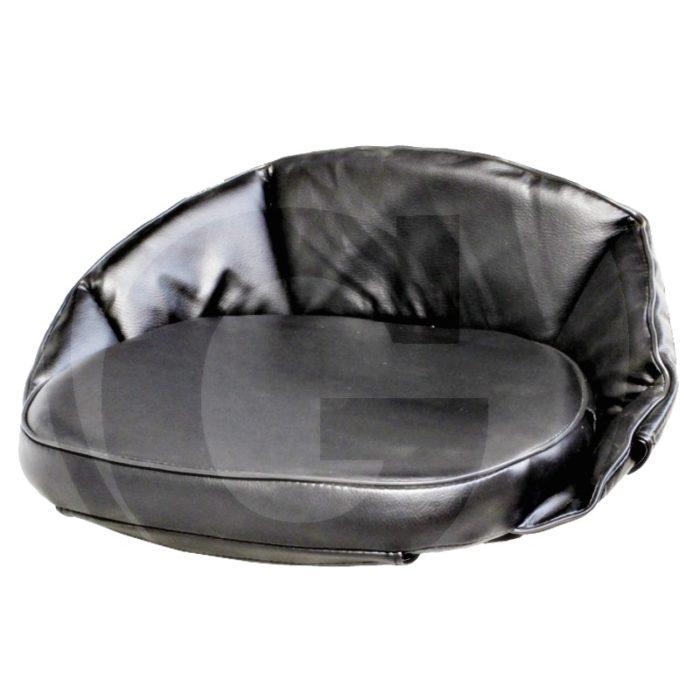 Cojín (1 pieza con respaldo, 12 cm, tensor de goma borde reforzado, plástico)