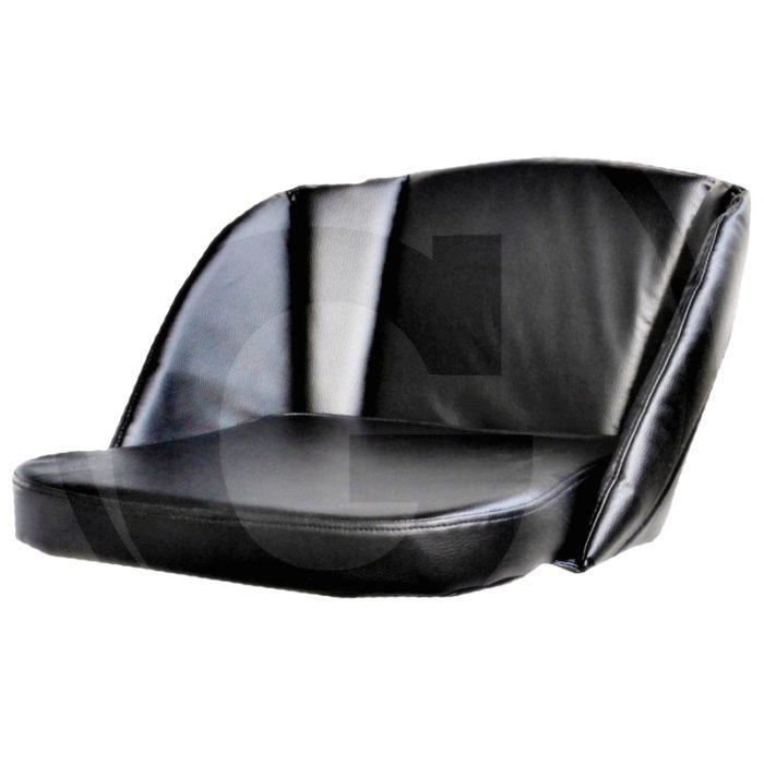 Cojín (1 pieza con respaldo, tensor de goma borde reforzado, plástico, 35 - 38 mm)