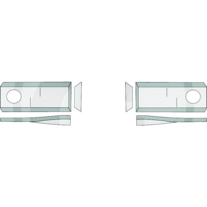 Cuchilla para segadora rotativa (PACK DE 25)